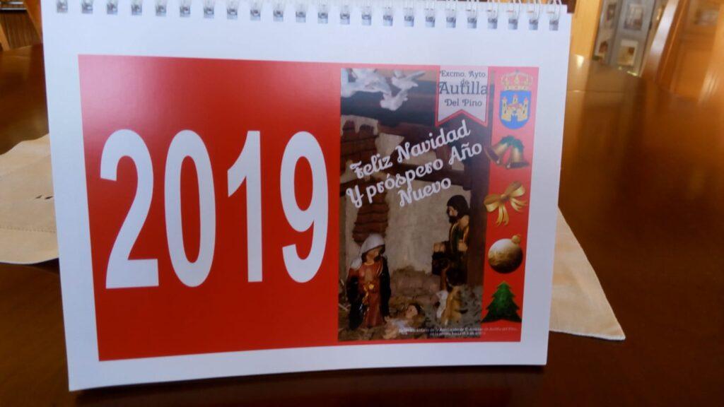 Calendario espiral Ayuntamiento Autilla (Palencia)
