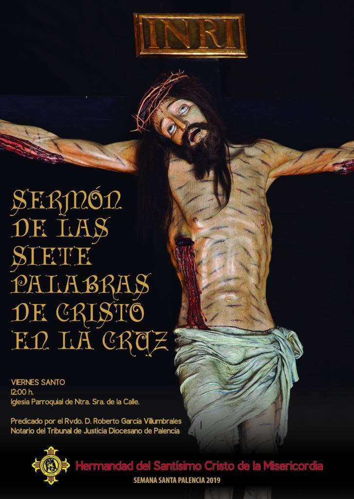 Sermón Siete Palabras Misericordia Palencia