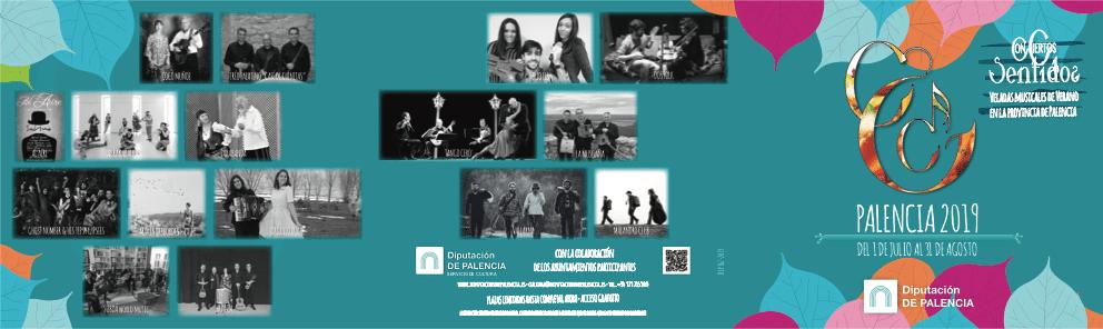 Con Ciertos Sentidos Diputación de Palencia 2019
