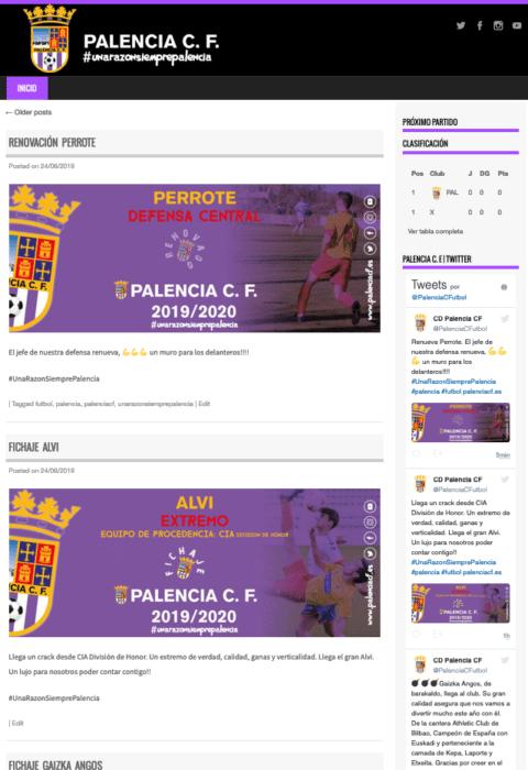 Web palenciacf.es