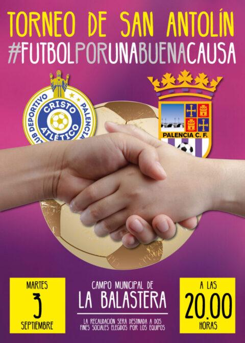 Cartel Futbol Solidario palencia