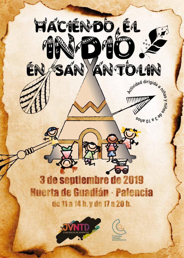 Haciendo el Indio en San Antolín - Ayuntamiento de Palencia