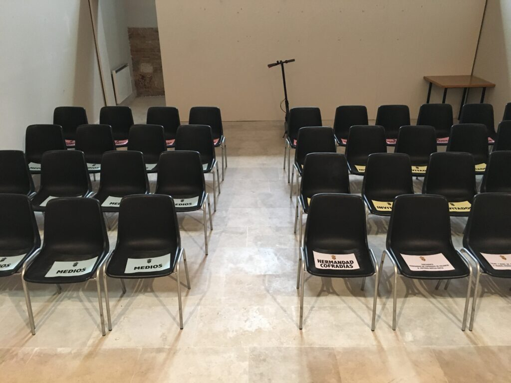 Presentación Cartel Semana Santa Palencia 2020