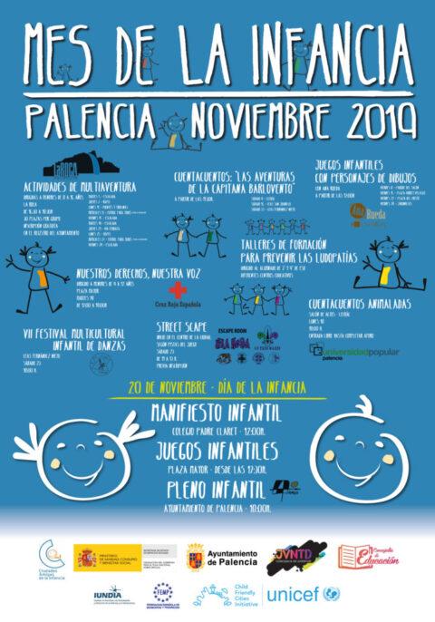 Mes de la Infancia 2019 - Ayuntamiento de Palencia