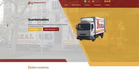Web Mudanzas Nozal Palencia
