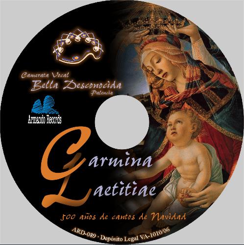 Carmina Laetitiae - Camerata Vocal Bella Desconocida de Palencia