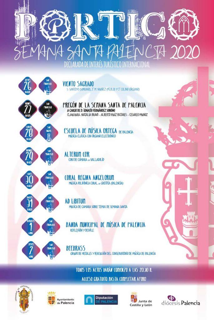 Portico Semana Santa Palencia 2020