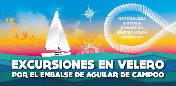 Diseño para excursiones velero Aguilar Palencia