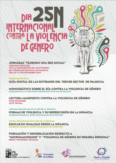 25N 2020 Ayuntamiento Palencia