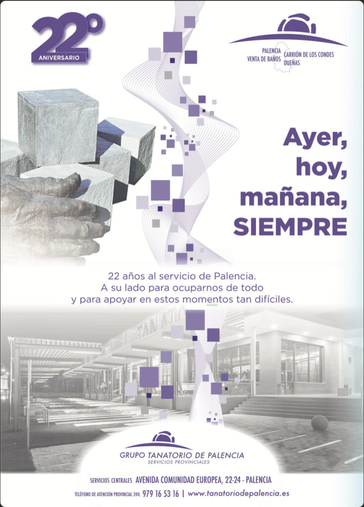 22 aniversario Tanatorio de Palencia