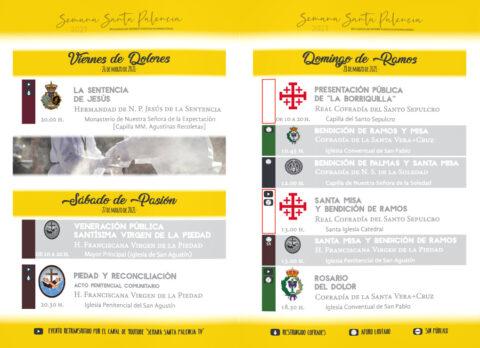 Programa Semana Santa Palencia 2021