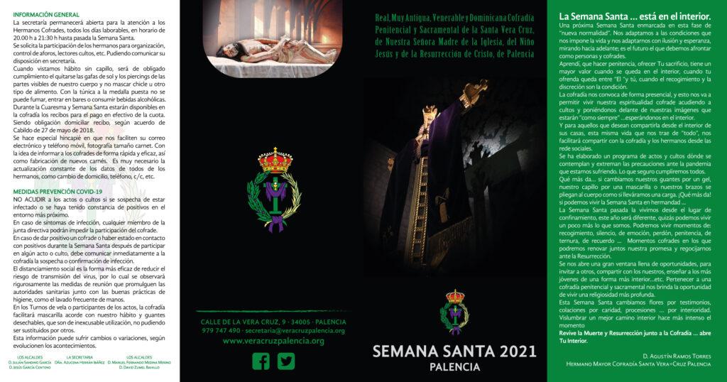 Diseño Vera Cruz Palencia Semana Santa 2021