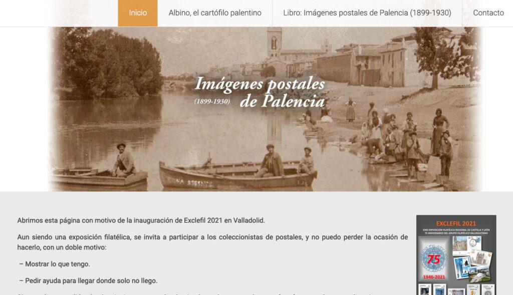 Web imagenespostalesdepalencia.es
